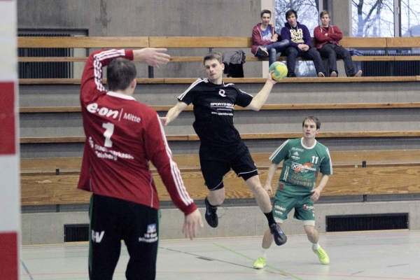 2014.01.11 Freundschaftsspiel TSV Korbach vs ESG Gensungen/Felsb