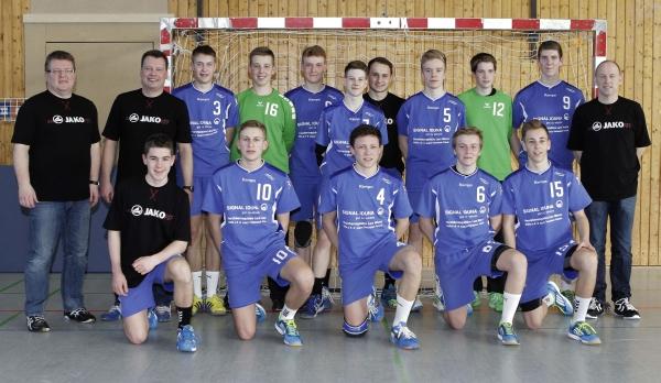 2014.03.09 TSV Korbach männl.Jgd.B Meisterschaftsfto