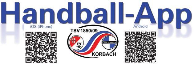 TSV Korbach  - Handball App, Alle Mannschaften mit aktuellen Ergebnisdienst