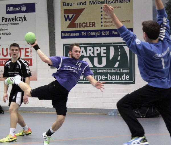 2015.02.14 Handball BOL männl.Jgd.A Twistetal-Bad Wildungen/F/B