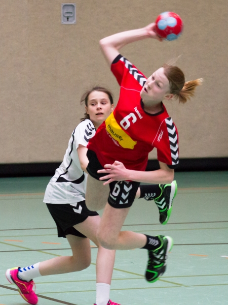 weibl. Jugend C vs  Dreiburgenstadt 1