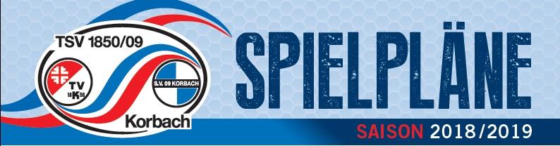 TSV Korbach  - Gesamtspielplan Saison 2018-19
